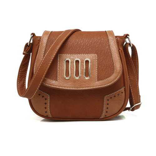 Vintage Saddle Shoulder Bag